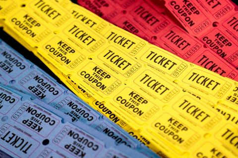 Tickets for events and functions