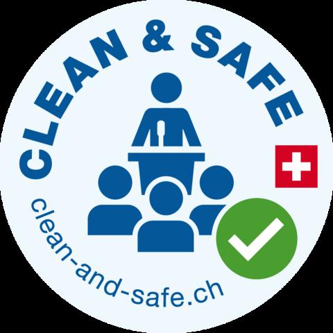 Clean&Safe im Lorzensaal